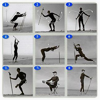 упражнения с палками